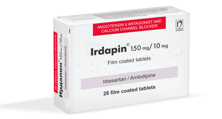 Irdapin 150mg/10mg 28 Tablet