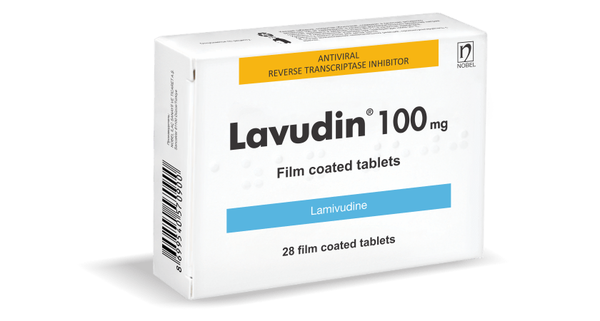 Lavudin 100mg 28 Tablet