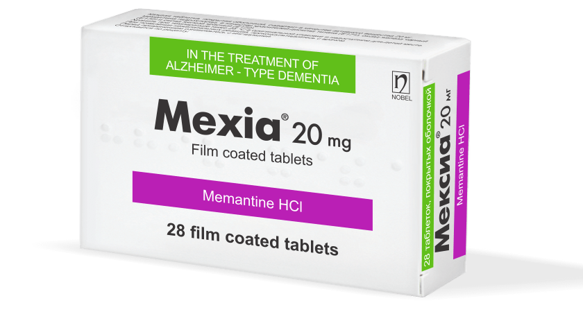 Mexia 20mg 28 Tablet